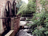 Morden Hall Park, Morden: Mill Wheel