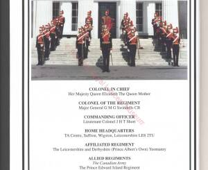 9th-12th Lancers, 1992