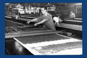 Liberty Print Works: Silk screen-printing