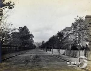 Merton Hall Road, Wimbledon, looking north