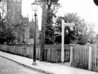 Mitcham Parish Church and Love Lane