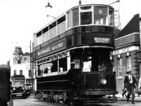 Tram at Fair Green, Mitcham