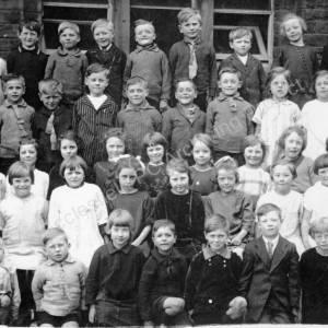 Burncross School, Miss Mathewman's class 1927.