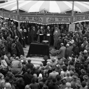 Opening of the Hereford May Fair, 1949