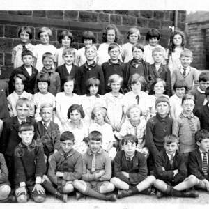 Grenoside Junior School c.1920s c