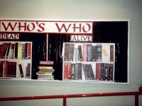 Who's Who Display, Wimbledon Library