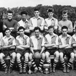 Thorncliffe football team, 1954