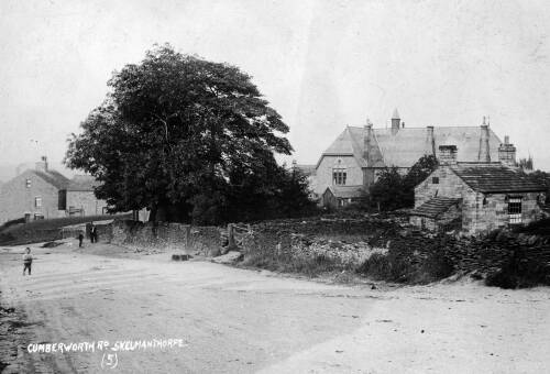 011 Cumberworth Road, with dye-house on right