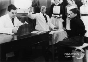 Nelson Hospital, Merton Park: Patients and medical staff
