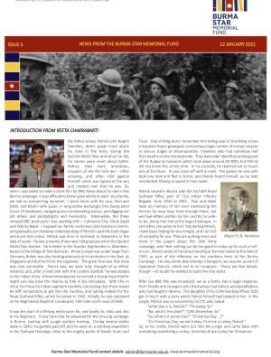 Burma Star Memorial Fund Newsletters
