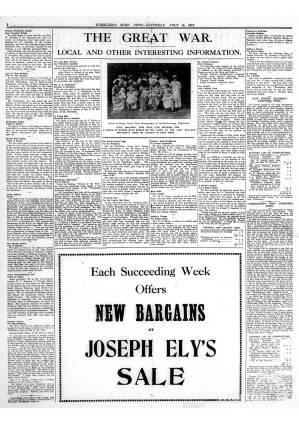 14 JULY 1917