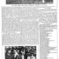 1913, Gladys Hawthorne, Lymm May Queen