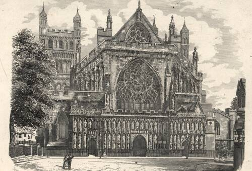Exeter Cathedral, 19th Century, Exeter