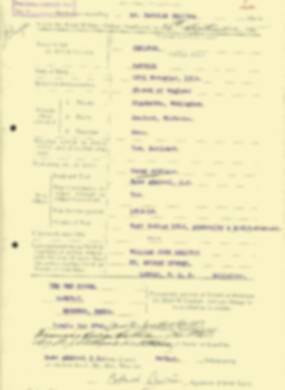 RMC Form 18A Personal Detail Sheets Aug 1935 Intake - page 42