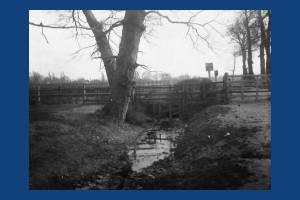 The level crossing near High Path, Merton