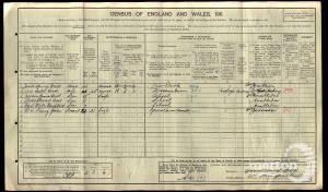 1911 Census - 60a High Street, Wimbledon
