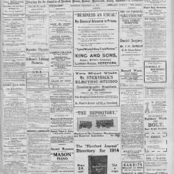 Hereford Journal - 12th September 1914