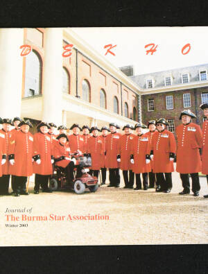 DEKHO! The Journal of The Burma Star Association - Issue No. 145, Year 2003