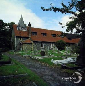 St. Mary's Church, Church Path, Merton Park
