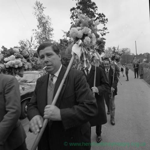 Fownhope Heart of Oak Club Walk, May 1965