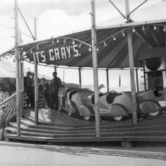 Ride in Amusement Park, South Shields