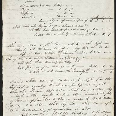 Letter respecting the charges threatened against the Society in the care of widows Edington and Gilmour (Part 2)