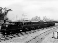 Necropolis funeral train near Wimbledon Station