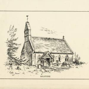 Bolstone Church, Herefordshire, print