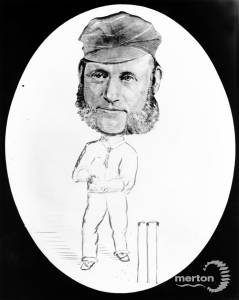 Collingsby cartoon featuring cricketer James Southerton