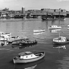 View Across the  River to North Shields Fish Market