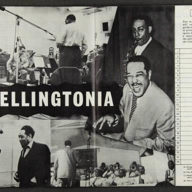 Duke Ellington Orchestra British Tour – October 1958 006
