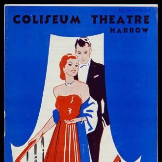 Coliseum Theatre, Harrow, October 1955