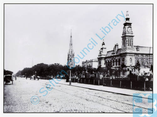 Cambridge Hall, Southport Town Hall and Christ church