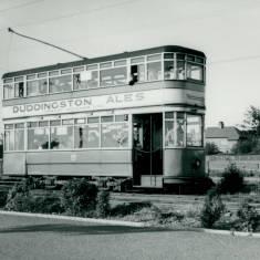 Tram 49 at Ridgeway