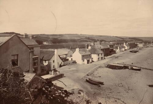 Views across Torcross, c1900, Torcross