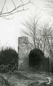 Bidder Memorial Croydon Road