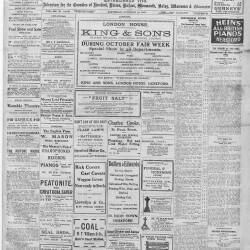 Hereford Journal - 12th October 1918