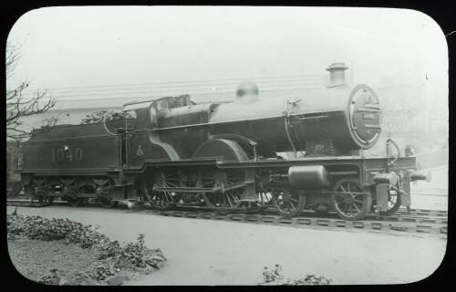Midland Railway steam locomotive 1040