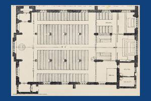All Saint's floor plan, South Wimbledon