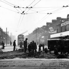 Removal of tram lines