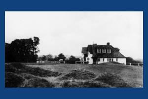 The Golf Club House, Maycross Avenue, Merton Park, looking west