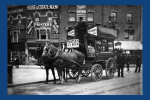 Horsebus on the Broadway, Wimbledon