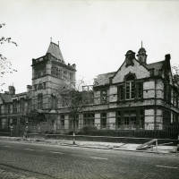 Balliol Road Boys Secondary School, bomb damage, Blitz
