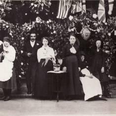 Victory Tea Party, Johnson Street 1919