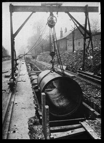 "48"" cast iron main"