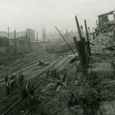 Bomb Damage to Harton Colliery Railway