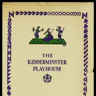 Playhouse, Kidderminster, November 1950