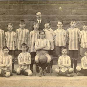 High Green Junior School football team c. 1915.