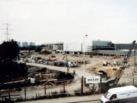 Savacentre under construction