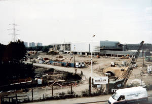 Savacentre under construction